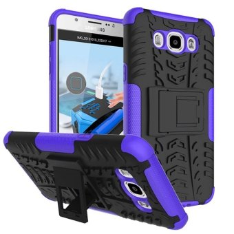 Harga BYT Rugged Dazzle Case for Samsung Galaxy J7 2016 with Kickstand (Purple)