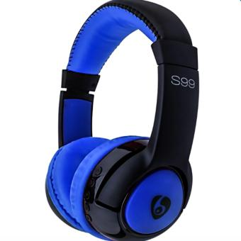 Ovleng S99 Wireless Stereo Bluetooth Headphone (Blue/Black) Price Philippines