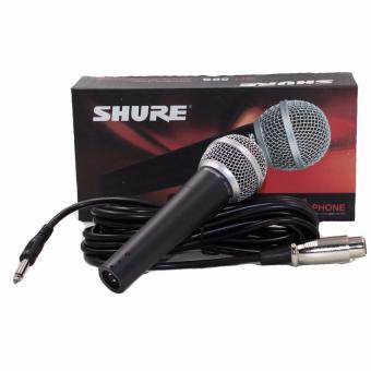 Harga Shure SH-58S Dynamic Vocal Microphone (Black)