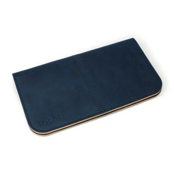 Toshi A003-Leather Wallet for iPhone 6 Plus/7Plus (Blue) Price Philippines