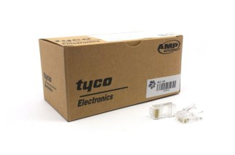AMP Tyco RJ45 Lot, Set of 100 Price Philippines
