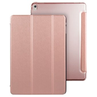 PU Leather Case Magnetic Stand Smart Cover for Apple iPad Pro 9.7 inch (Gold) Price Philippines