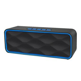 Megabass LC-209 A2DP Bluetooth Wireless Stereo Speaker (Blue) Price Philippines