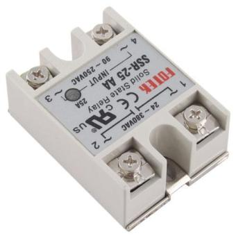 BUYINCOINS New 25A AA Solid State Relay SSR AC 90-250V 24-380V For Temperature Controller Price Philippines