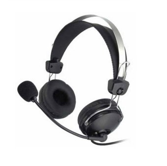 A4Tech HS-7P ComfortFit HeadPhone (Black) Price Philippines