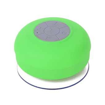 Harga wawawei Water Resistant Silicone Bluetooth Speaker (Green)