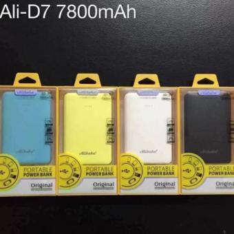 Alibaba Ali-D7 7800 mAh power bank Price Philippines