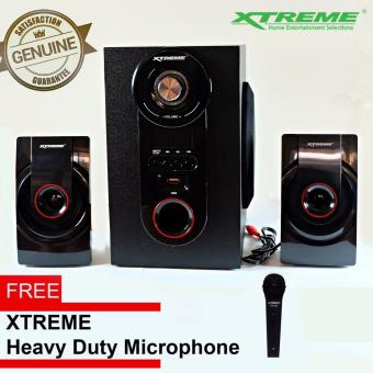Xtreme XP-2000 2.1-Channel Sub Woofer Bluetooth Speaker with Free Xtreme Heavy Duty Microphone Price Philippines