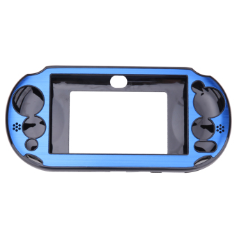 Harga Aluminum Skin Case Cover Shell for Sony PS Vita 2000(Navy Blue)