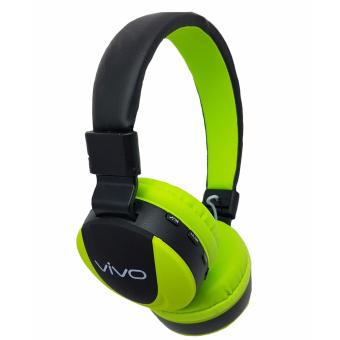 Harga Vivo MS771 Bluetooth Headphones (Black/Green)