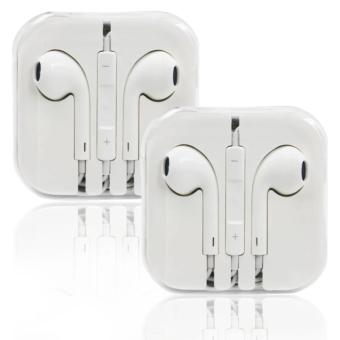 Stereo In-Ear Headphones for iPhone (White) Set of 2 Price Philippines