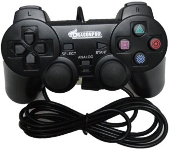 Harga Dragon Pro Wired Analog Controller for PS3 (Black)