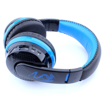 MX666 Wireless Stereo Bluetooth Headset Headphone Blue Price Philippines