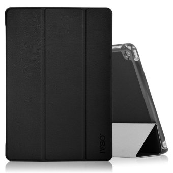 For Apple iPad Pro 10.5 Case - Ultra Lightweight Slim Smart Cover Case for Apple iPad Pro 10.5 inch 2017 Tablet(Black) - intl Price Philippines