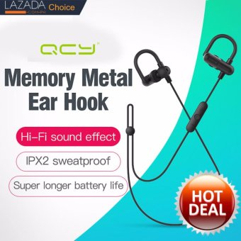 QCY QY11 ear hook headphones apt-x HIFI 3D stereo earphones bluetooth 4.1 wireless sport IPX2 sweatproof headset support iphone 7, samsung, android phone, sony beats earphone Price Philippines