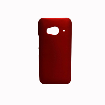 Harga Rubberized Hard Case for HTC One ME (Red)