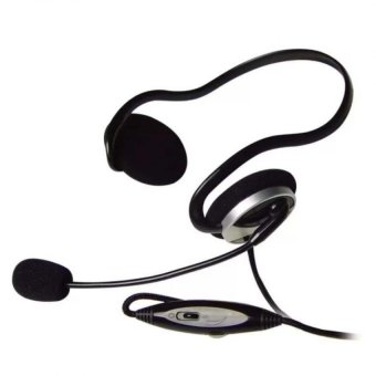 A4TECH HS-5P 97dB Over-The-Ear Headphones (Black) Price Philippines