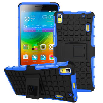 TPU + PC Armor Hybrid Case Cover for Lenovo A7000 / Lenovo K3 Note (Blue) Price Philippines