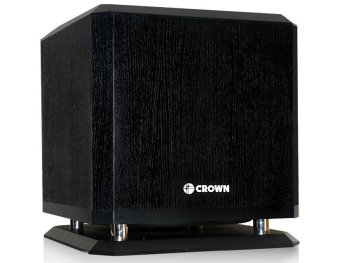 Crown BF-10W Active Sub-Woofer (Black) Price Philippines