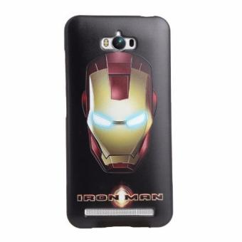 Harga For Asus Zenfone Max ZC550KL TPU 3D Painting Cover Case(Iron Man) - intl