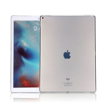 Crystal Clear Transparent Ultra Thin Shell TPU Soft Case for Apple iPad Pro 12.9(White) Price Philippines
