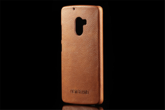 Hard PC Protective Back Cover Case For Lenovo K4 note / Lenovo X3 lite /Lenovo A7010 (Brown) - intl Price Philippines