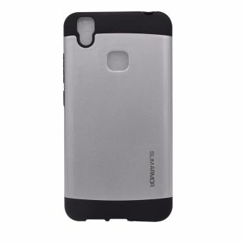 Harga Slim Armor Case for Vivo V3 silver