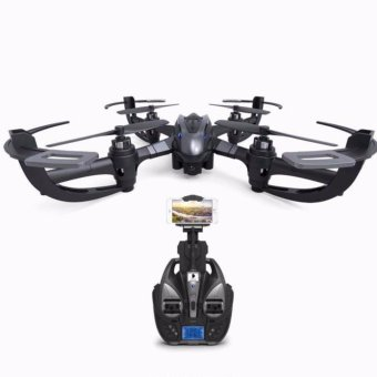 i 4W 6 Axis Gyro Drone WiFi Real Time Transmission 2MP HD Camera (Black) - intl Price Philippines
