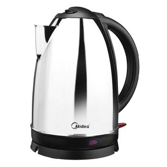 Harga Midea MK-S01 1.7L Electric Kettle (Silver/Black)
