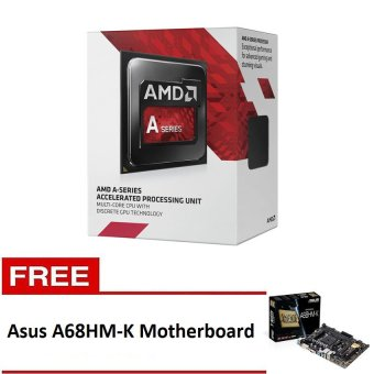 AMD A4-7300 3.8ghz Processor with Free Asus A68HM-K Motherboard Price Philippines