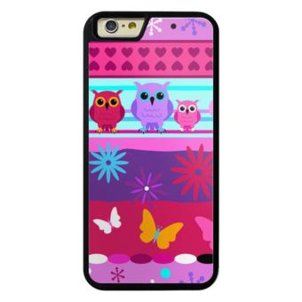 Phone case for iPhone 6Plus/6sPlus Pink Owl Pattern cover for Apple iPhone 6 Plus / 6s Plus - intl Price Philippines