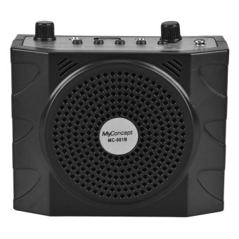 Harga My Concept MC-001B Portable Amplifier Lapel with FM/USB/TF Port (Black)