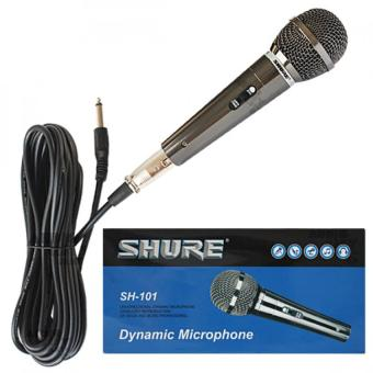 Harga Shure SH-101 Unidirectional Dynamic Vocal Microphone (Grey)