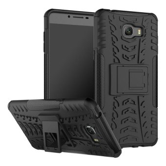 Harga BYT Rugged Armor Dazzle Back Cover Case for Samsung Galaxy C9 Pro - intl