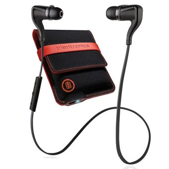 Harga Plantronics BackBeat GO 2 Bluetooth Headset (Black) with Charging Case and 1 Year Limited Warranty