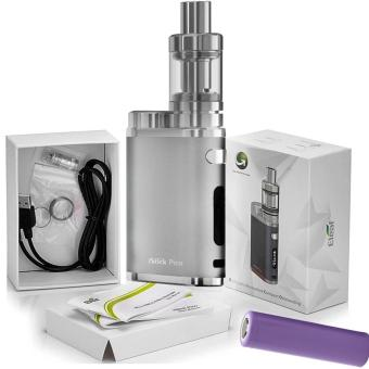 Harga Eleaf iStick Pico 75W Starter Kit Cigarette With Battery (Silver)