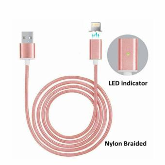 Harga BWOO Magnetic iOS Lightning Cable (Rose Gold)