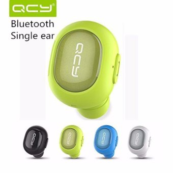 [Mini Bluetooth Earbud] QCY Q26 Wireless Invisible headphones With Mic, Hands-free Stereo noise canceling for Apple iPhone7 iPhone 6, 6 Plus, 5S, 5c, 5, 4S, 4 and Android Smart Phones-Green - intl Price Philippines
