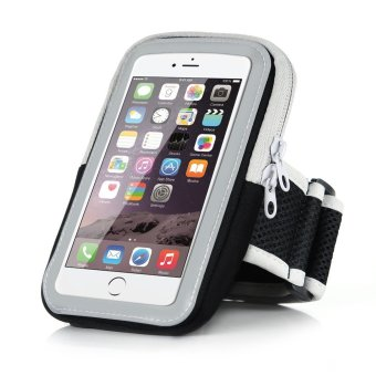 5.5 inch Big Capacity Sport Running Armband Arm Band Holder Phone Cases For 5.5 inch Mobile Phones iPhone 6Plus/6S Plus 7Plus/7S Plus(Black) - intl Price Philippines