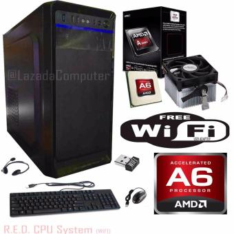 R.E.D. Basic WiFi CPU , AMD A6-6400k Richland 3.9GHz Dual-Core. Price Philippines