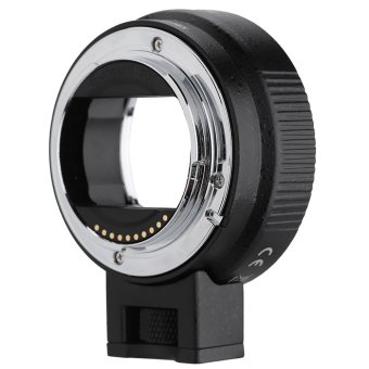 Andoer Auto Focus AF EF-NEXII Adapter Ring for Canon EF EF-S Lens to use for Sony NEX E Mount 3/3N/5N/5R/7/A7/A7R/A7S/A5000/A5100/A6000 Camera Full Frame - Intl Price Philippines