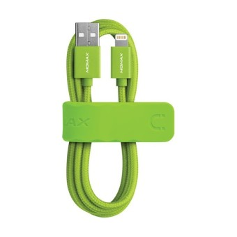 Harga Momax Elite Link Lightning Cable (Green)