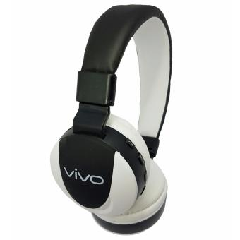 Harga Vivo MS771 Bluetooth Headphones (Black/White)