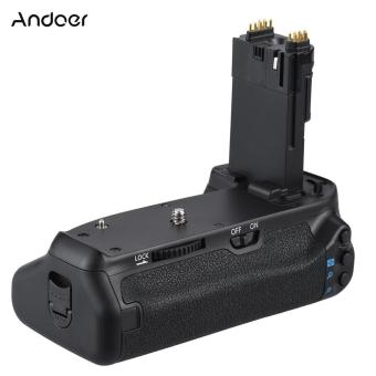 Andoer BG-1T Vertical Grip Holder for Canon EOS 70D/80D DSLR Camera Compatible with 2 * LP-E6 - intl Price Philippines