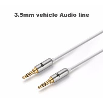 3.5mm to 3.5mm AUX Stereo Audio Cable M/M Line-In / Aux Wire Male to Male Cord (White) (Intl) Price Philippines