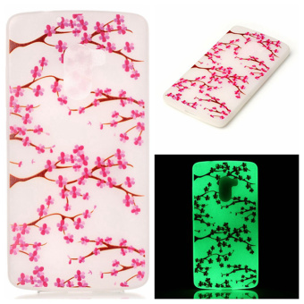 Luminous TPU Phone Case for Lenovo Vibe K4 Note/Vibe X3 Lite - Blossom - intl Price Philippines