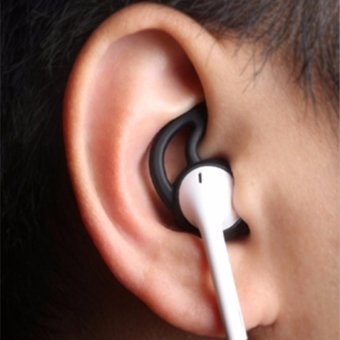 Harga Earphone Cover Tips Hook For Airpods Anti-Slip Soft Silicone - intl