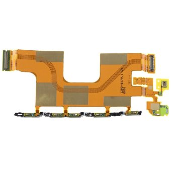LCD Charging Power Volume Button Flex Cable For Sony Xperia Z4 Z3+ Plus MKLG - intl Price Philippines