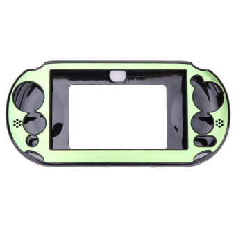 Harga Aluminum Skin Case Cover Shell for Sony PS Vita 2000(Green)