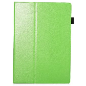 Harga Lychee PU Leather Cover for Microsoft Surface Pro 4 (Green)